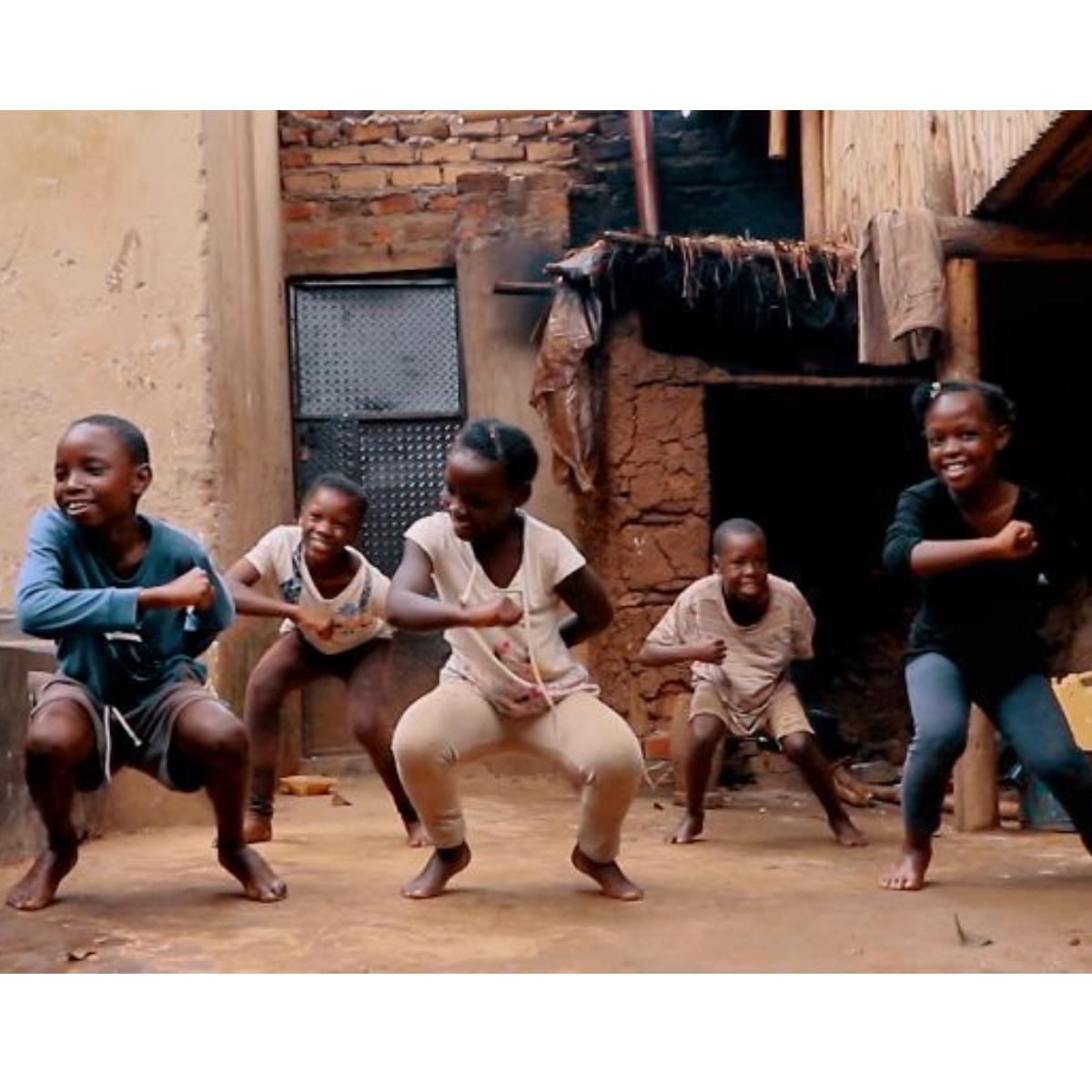 Orphaned Dancers From Uganda Dancing To Toosie Slide