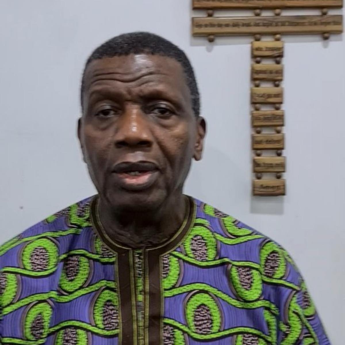 Pray Against Fire Outbreak And Flood Pastor Adeboye