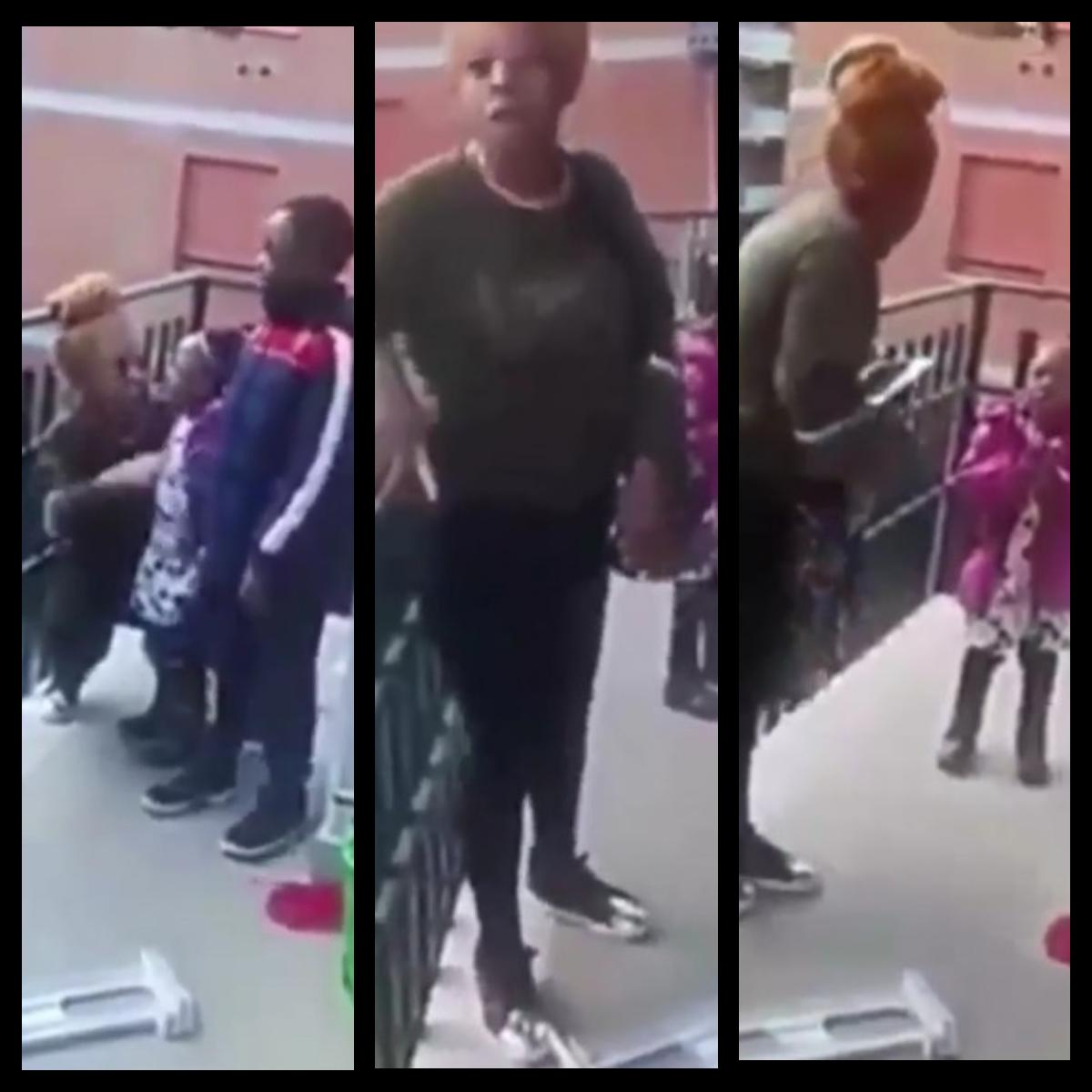 Nigerian Woman And Mother-In-Law Fight In Italy