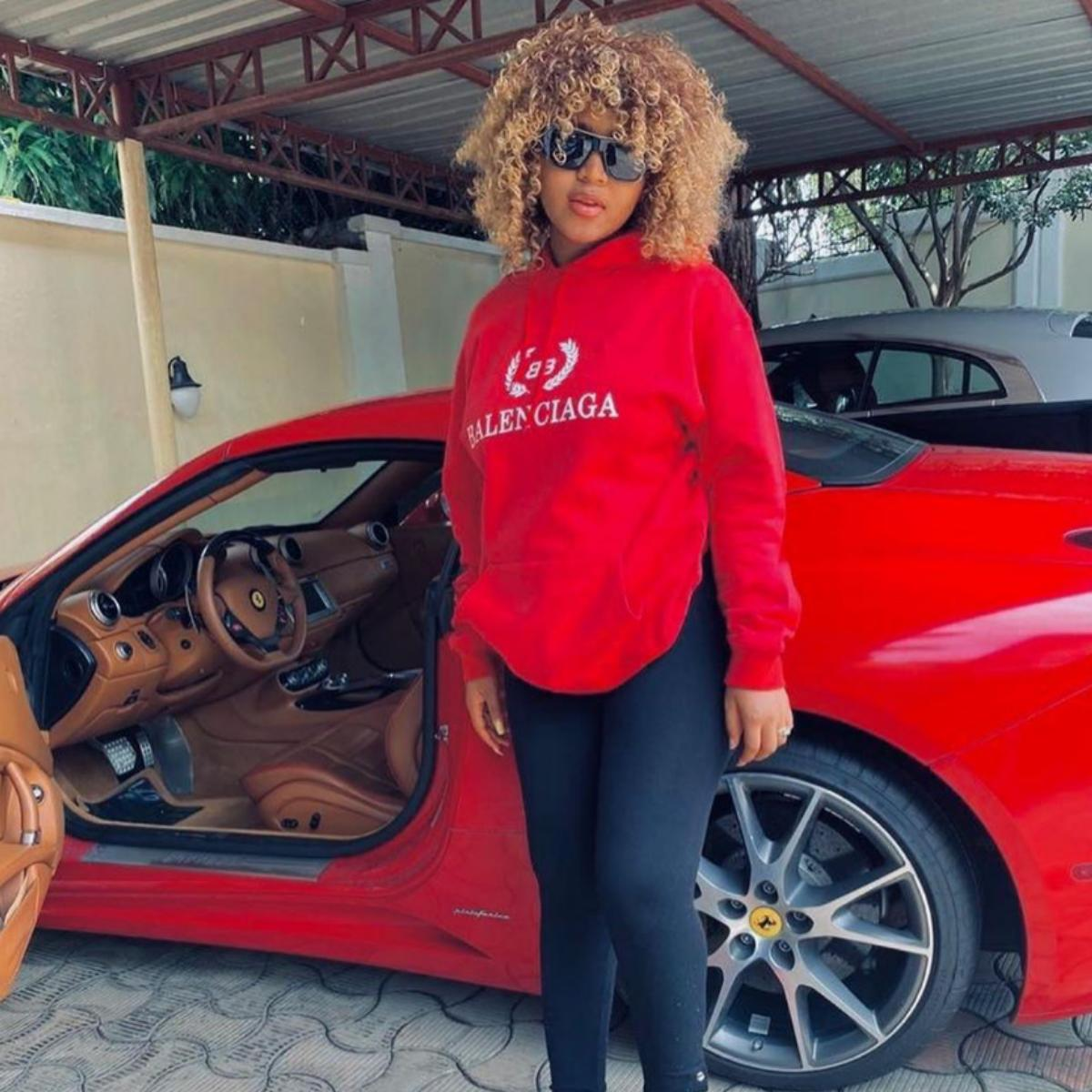 Regina Daniels Putting Grown Woman's Weight Staying In The House