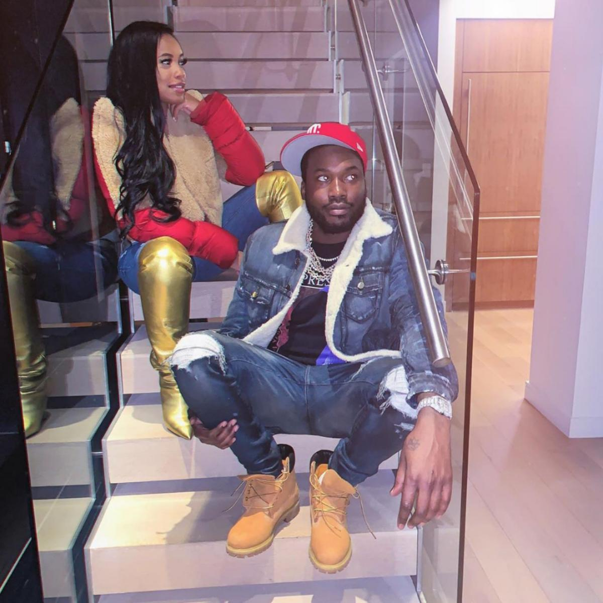 Meek Mill Milan Harris Welcome Baby Boy