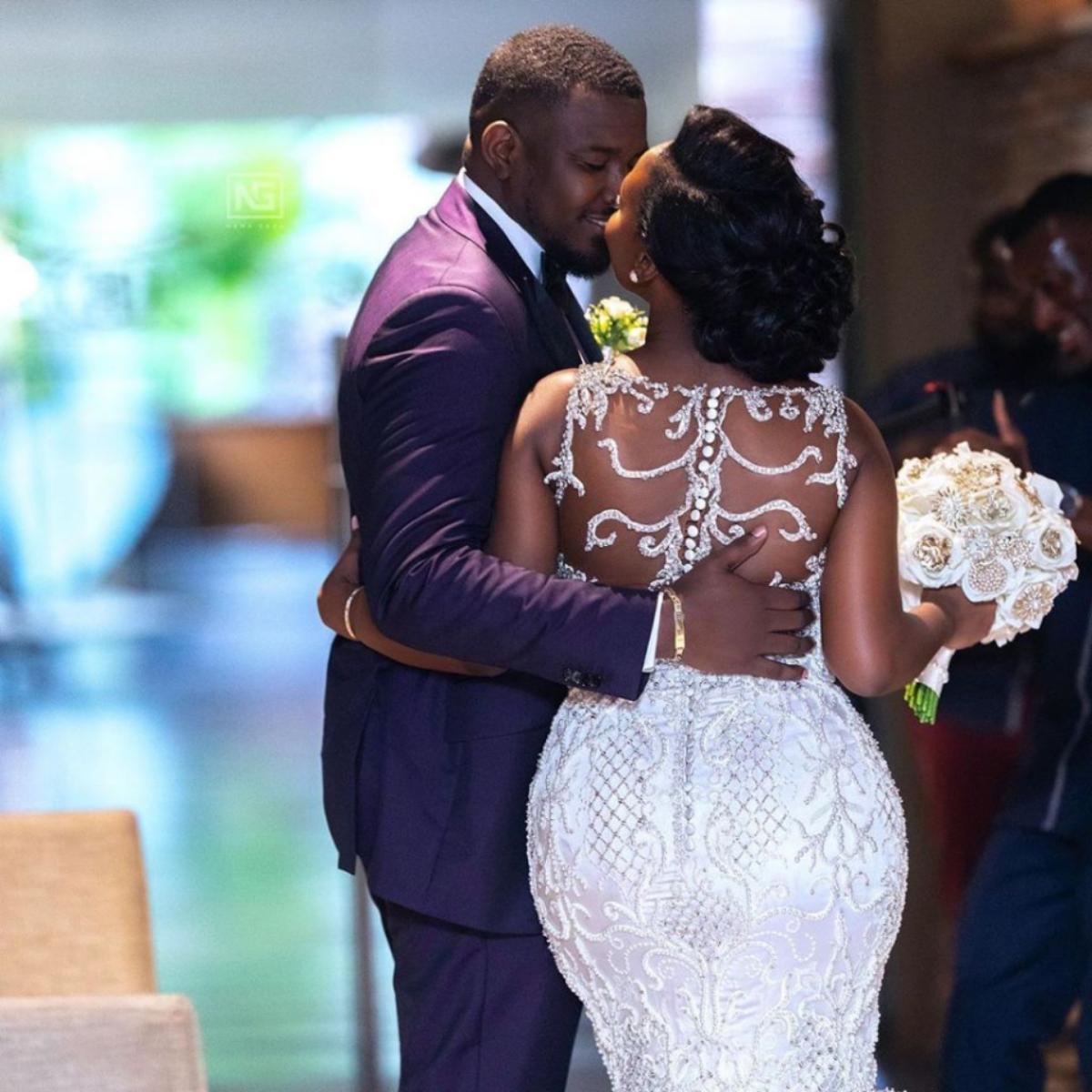 John Dumelo And Wife Gifty Mawunya Nkornu Celebrate 1st Wedding Anniversary