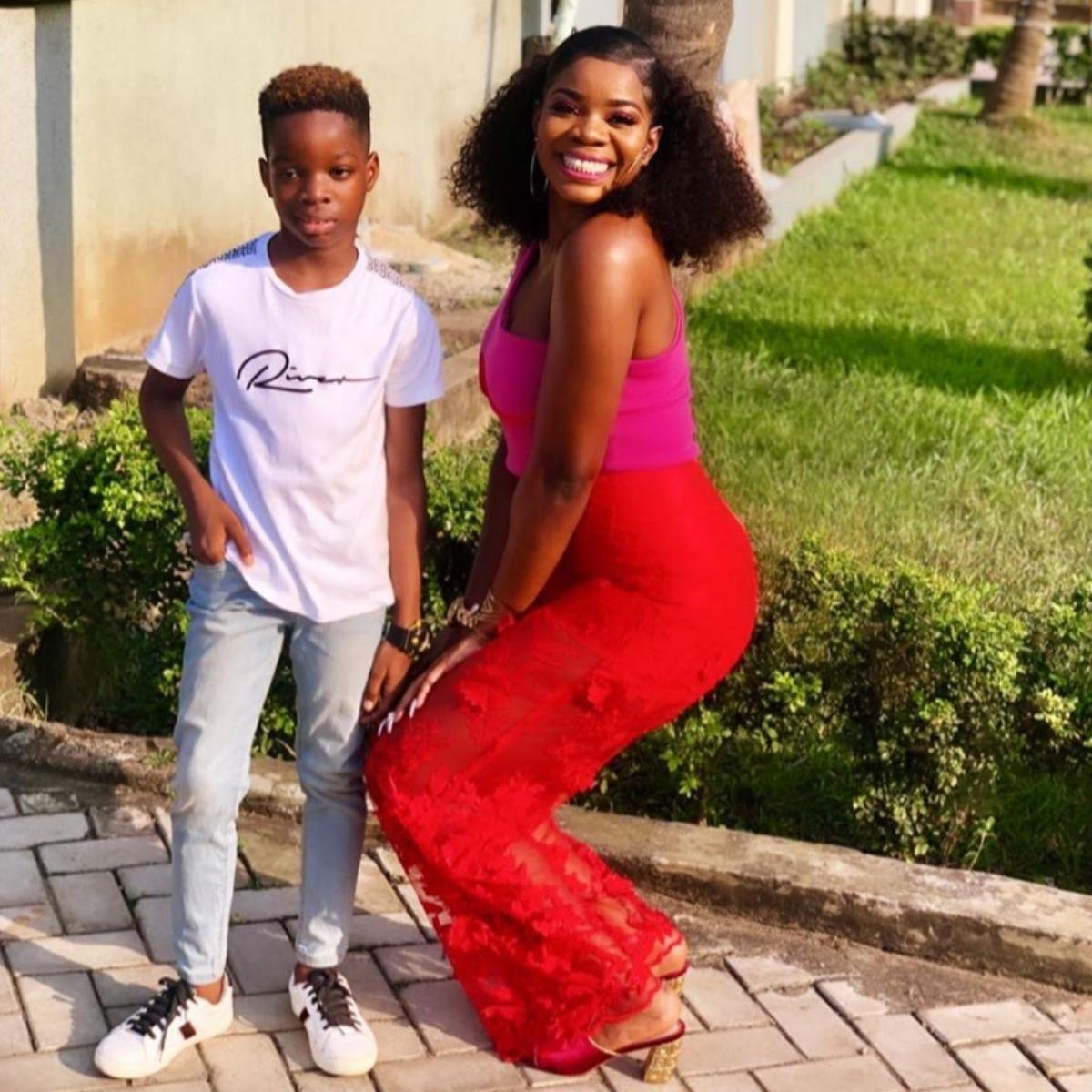 Shola Ogudu Wishes Son Happy 9th Birthday