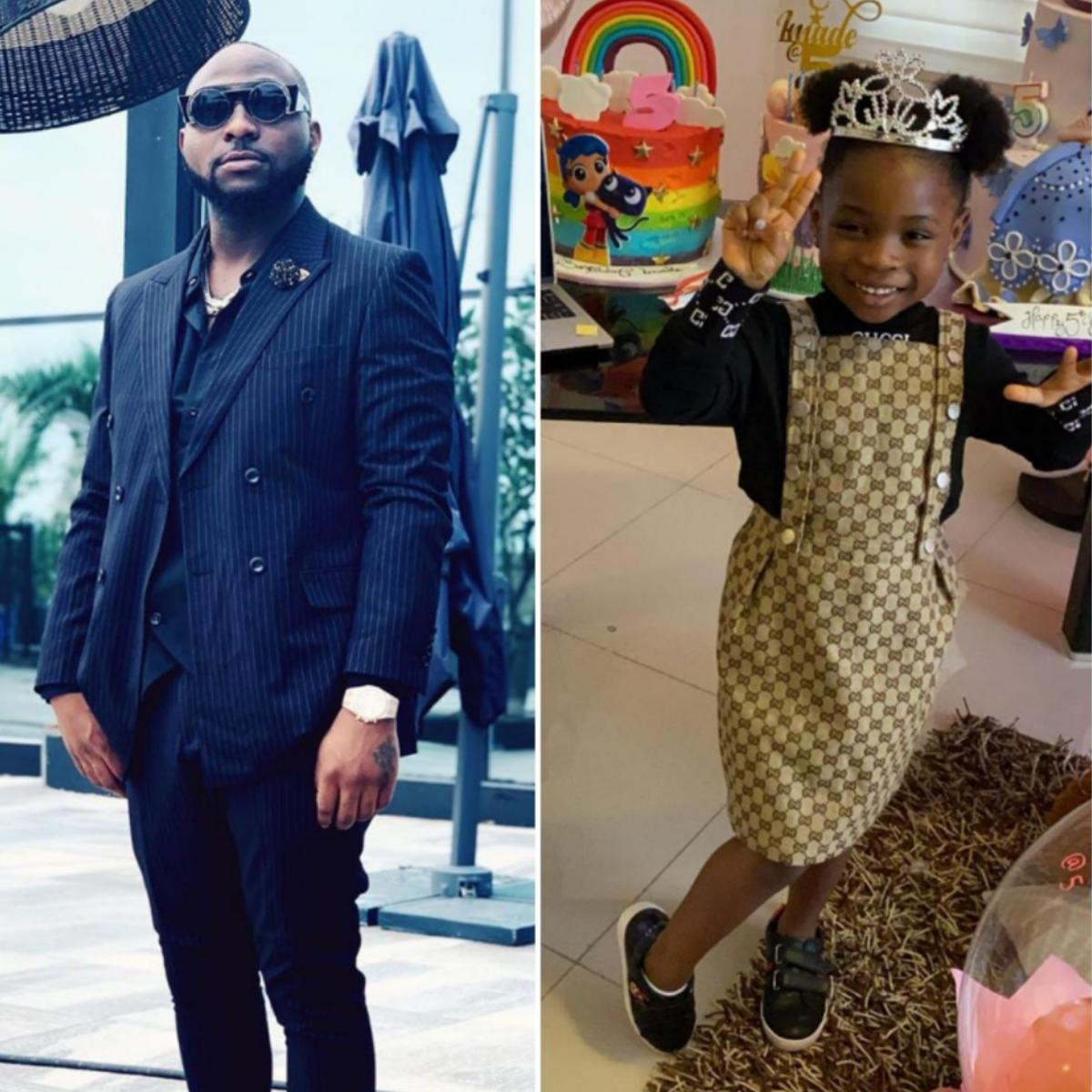 Davido Wishes Daughter Imade Adeleke Happy 5th Birthday