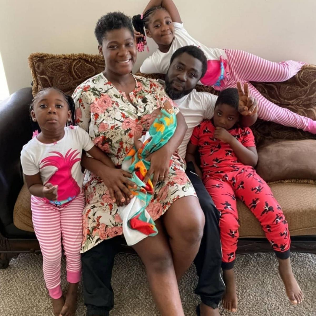 Mercy Johnson Shares Family Photos