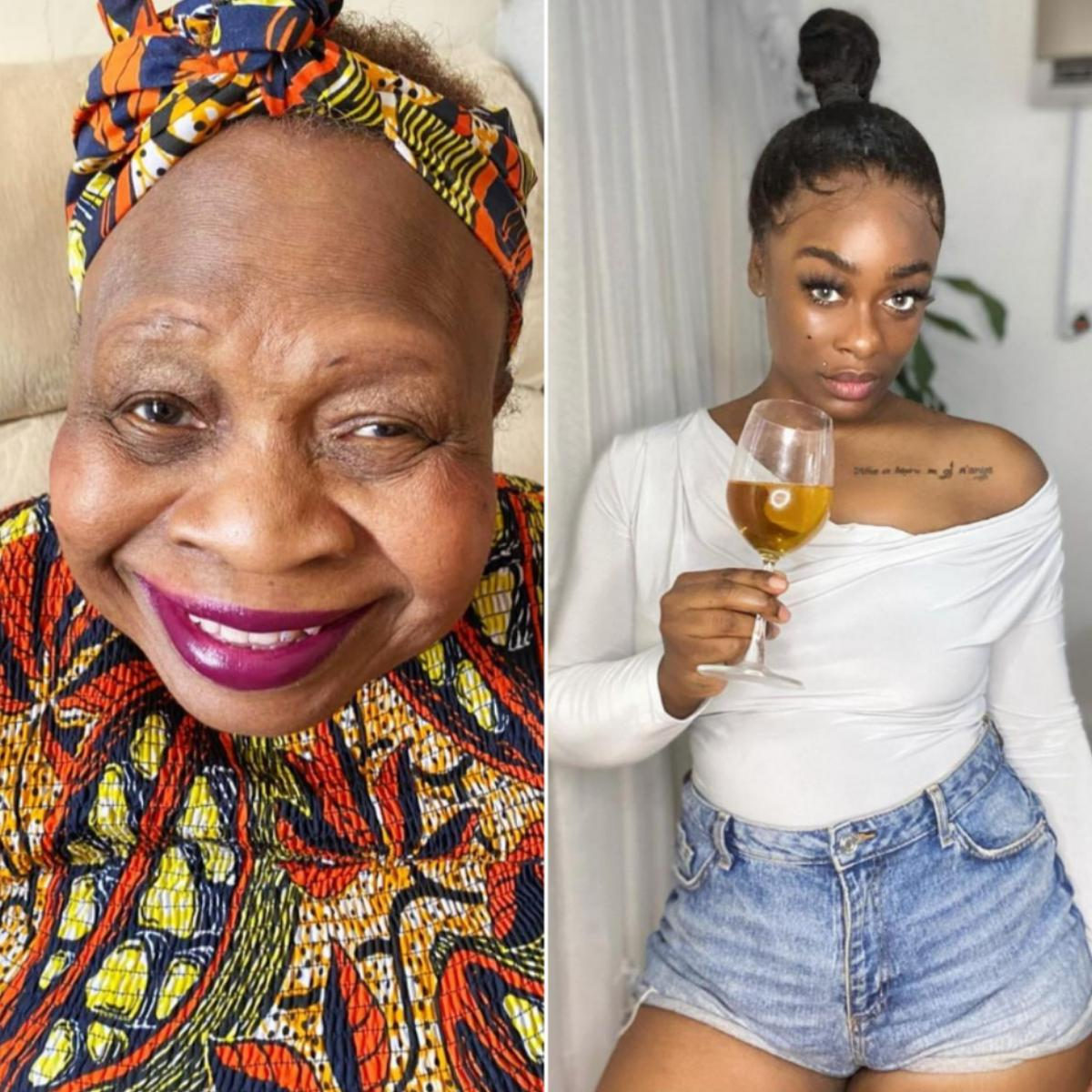 Uriel Oputa Wishes Mother Happy Birthday
