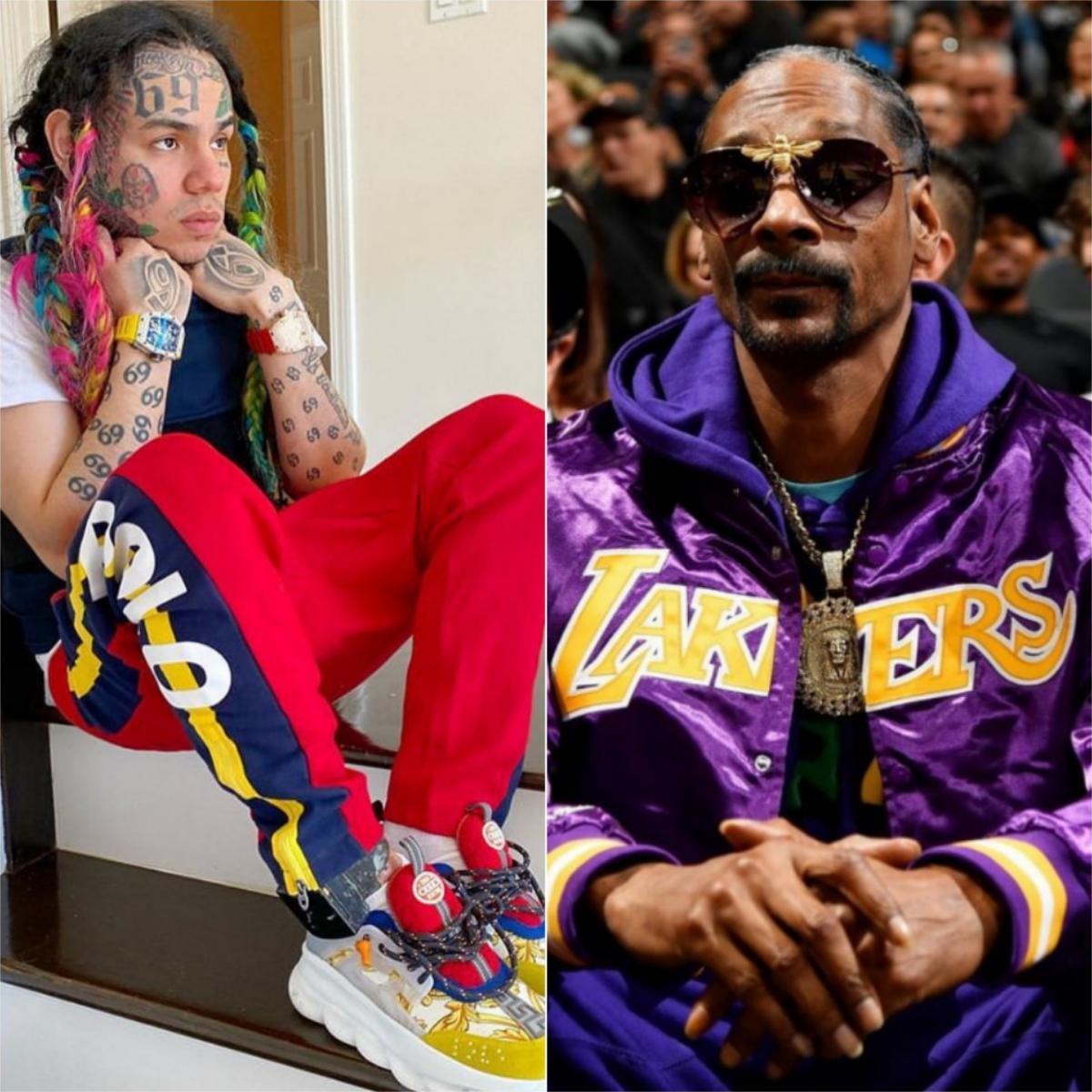 Tekashi 6ix9ine Accuses Snoop Dogg Of Snitching