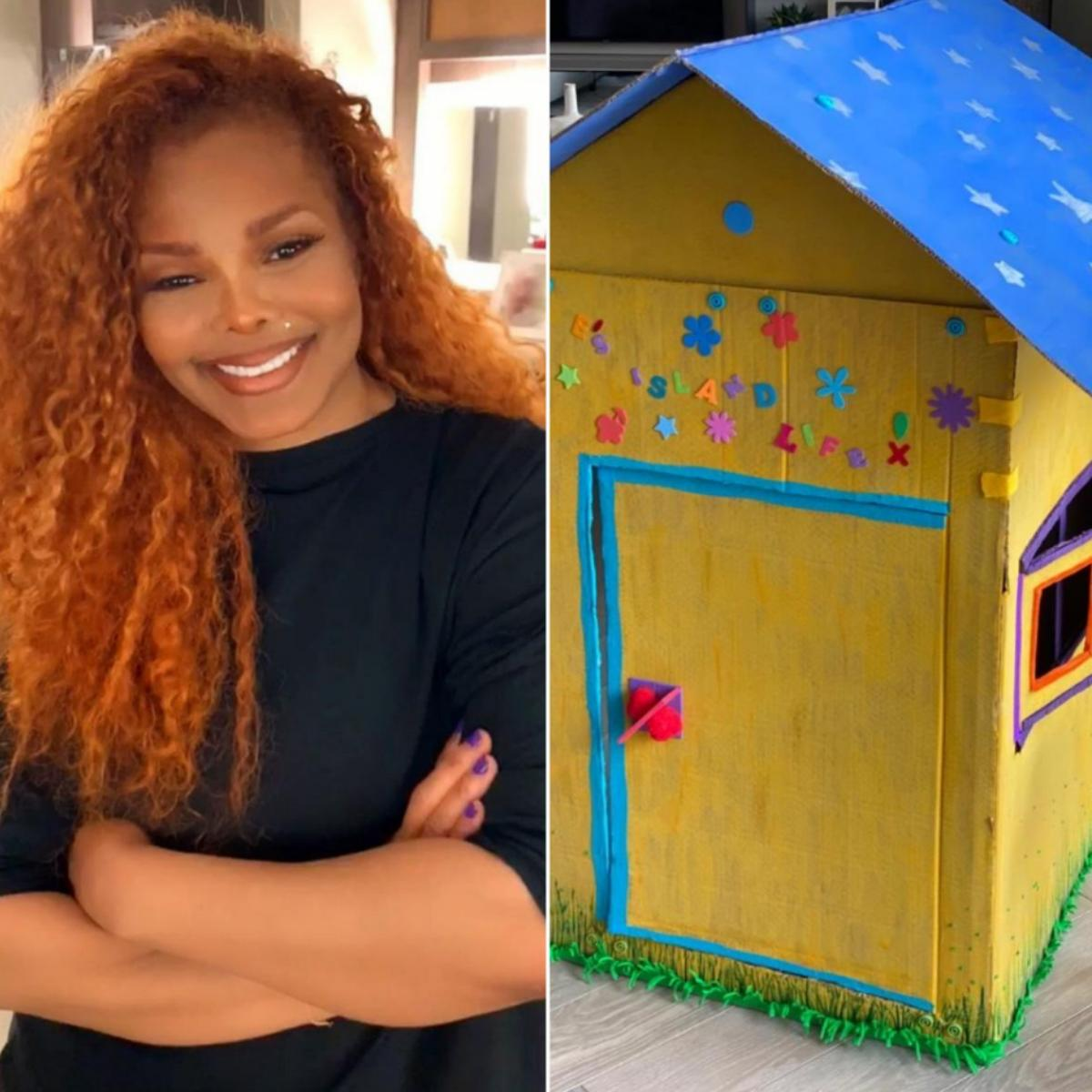 Janet Jackson And Son Build Lil' Island Retreat House
