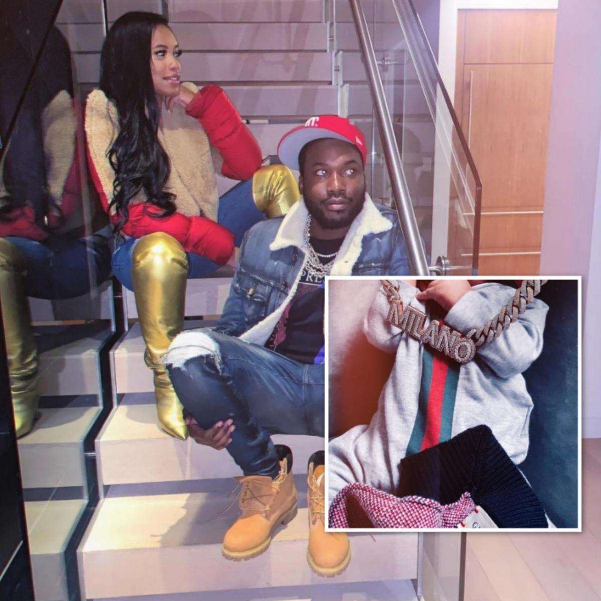 Meek Mill's Baby Mama Milan Harris Talks Raising Boys