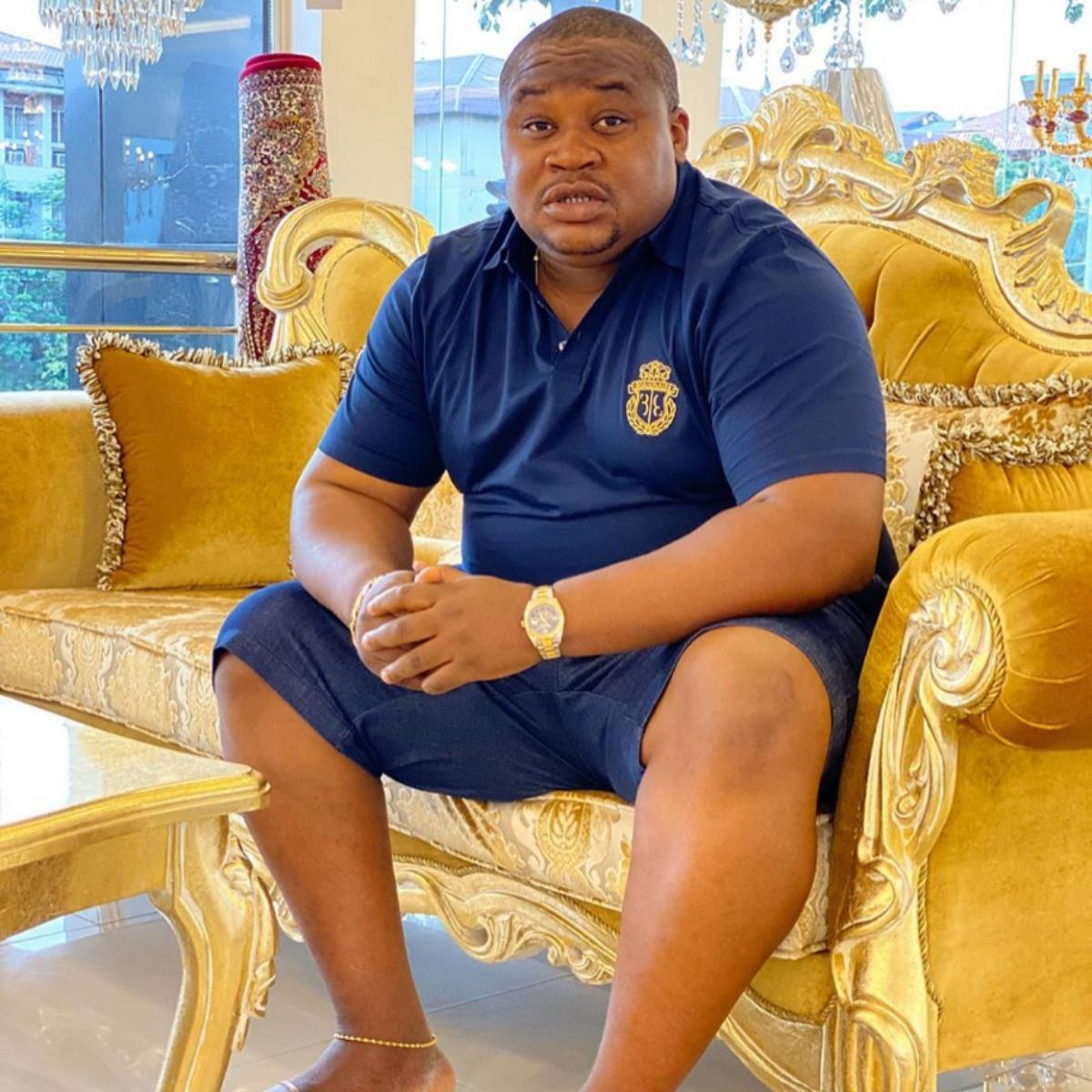 Cubana Chief Priest Collecting N10K Link Into The BBNaija House