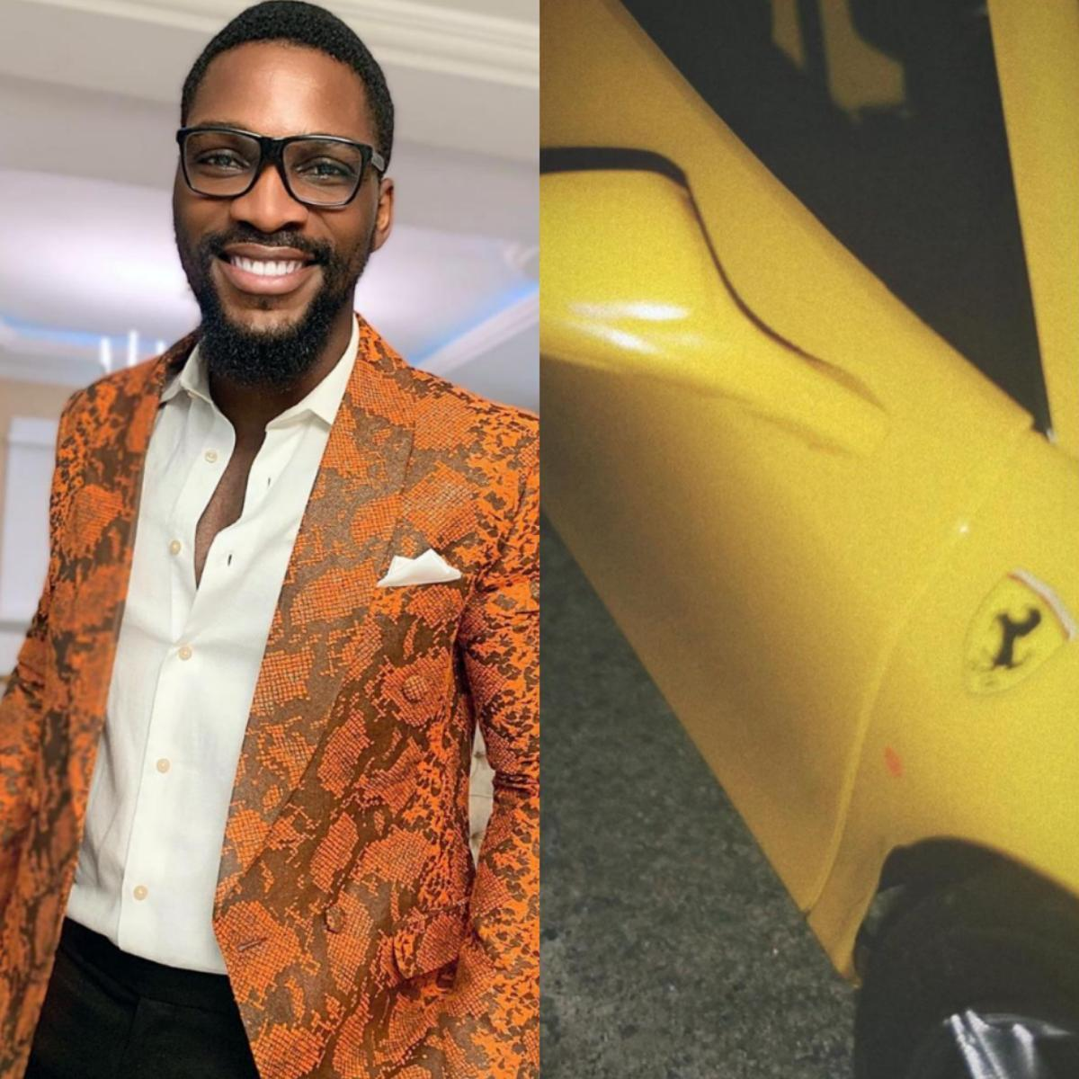 Tobi Bakre Ferrari Early Birthday Gift
