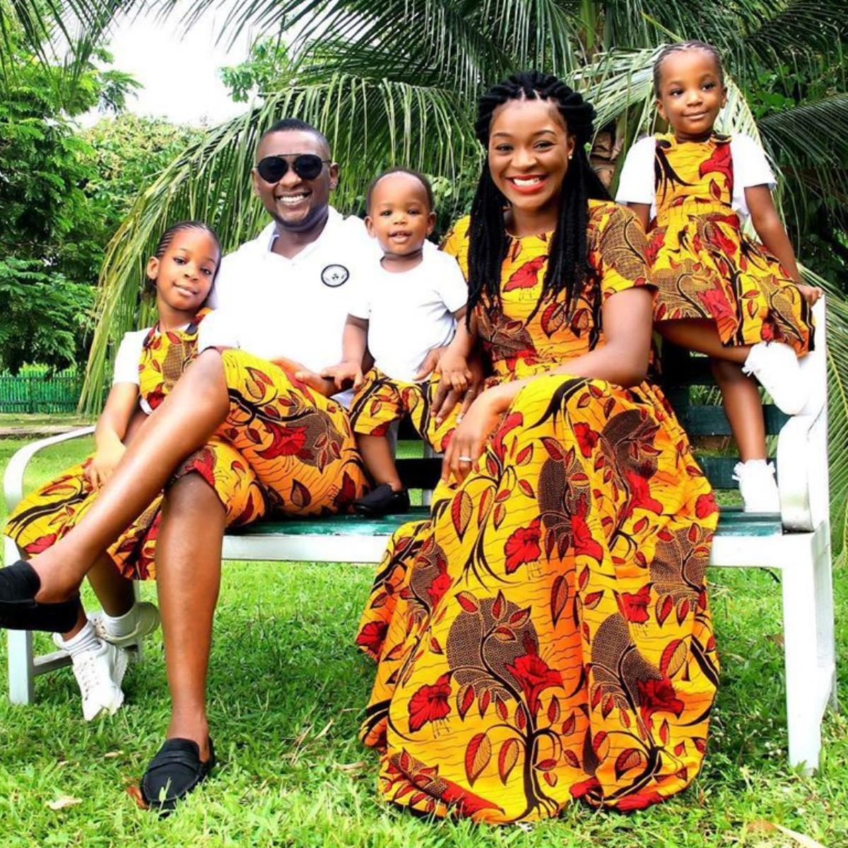 Chacha Eke Husband Austin Faani 7th Wedding Anniversary