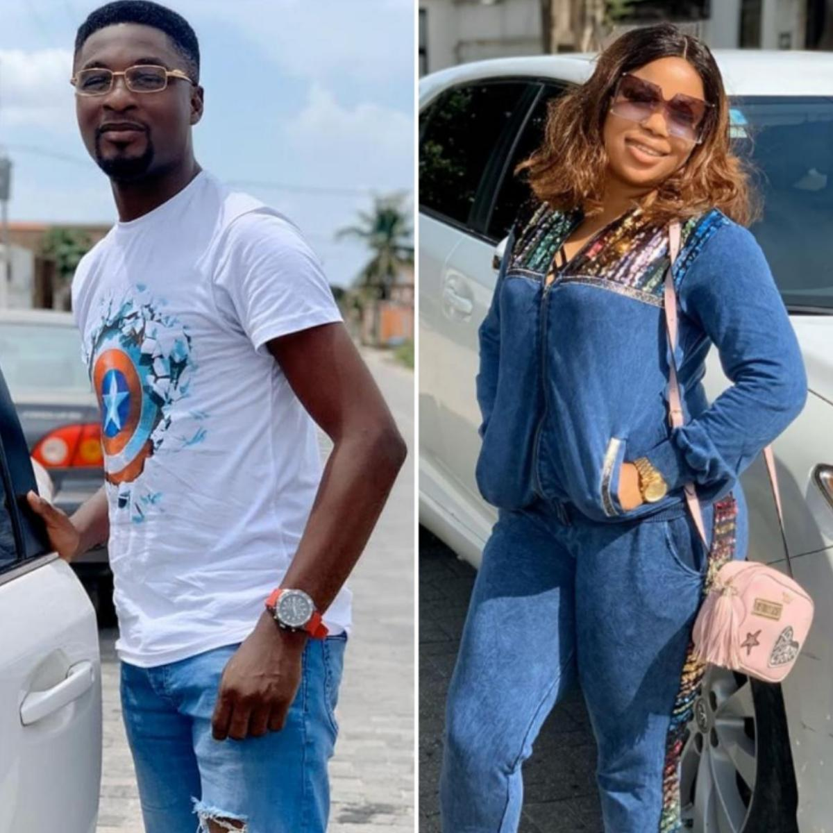 Adeniyi Johnson Surprises Seyi Edun With Birthday Gifts