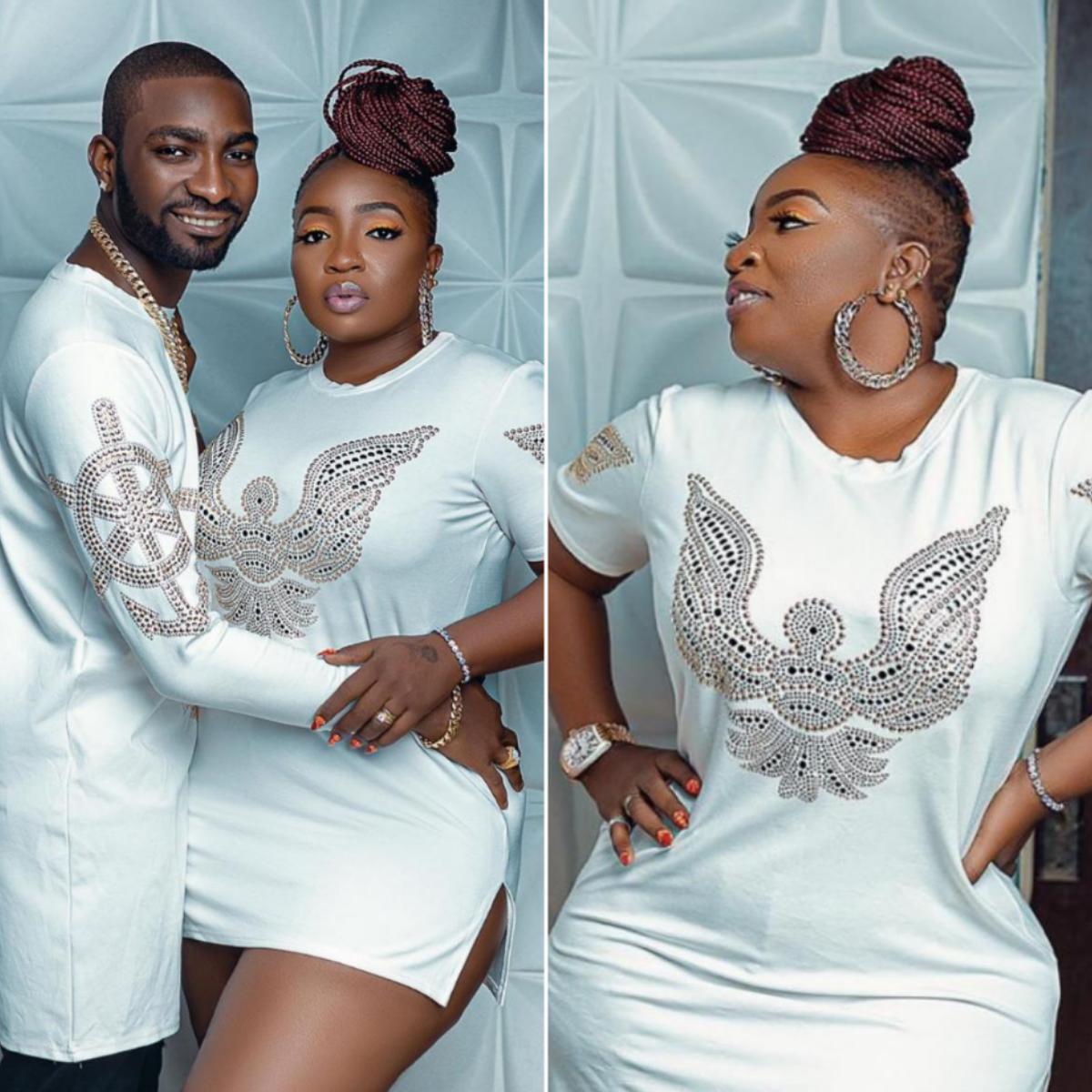Anita Joseph And Husband Fisayo Michael MC Fish 3rd Wedding Anniversary