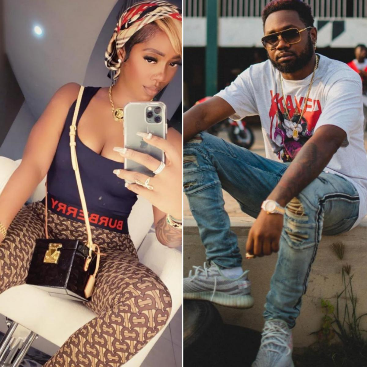 Kranium One Step Away From Losing His Mind Tiwa Savage