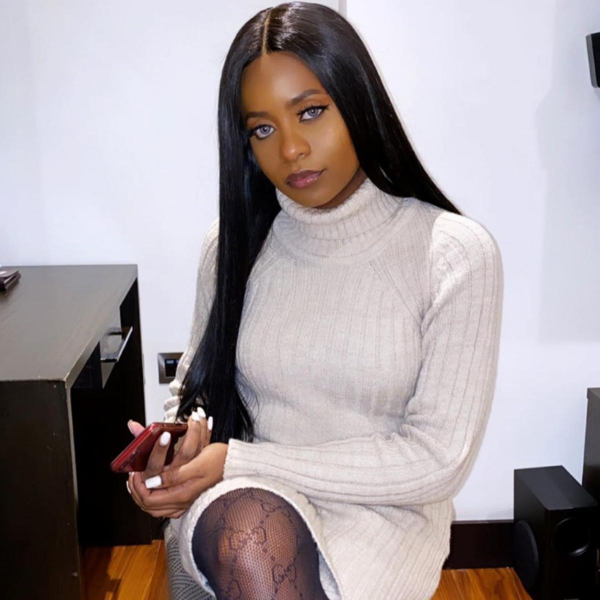 Kiki Osinbajo Makeup-Free Natural Hair