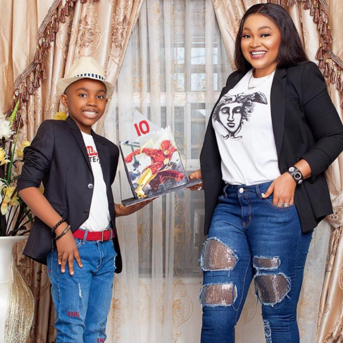 Happy 10th Birthday Son Olajuwon Gentry Mercy Aigbe