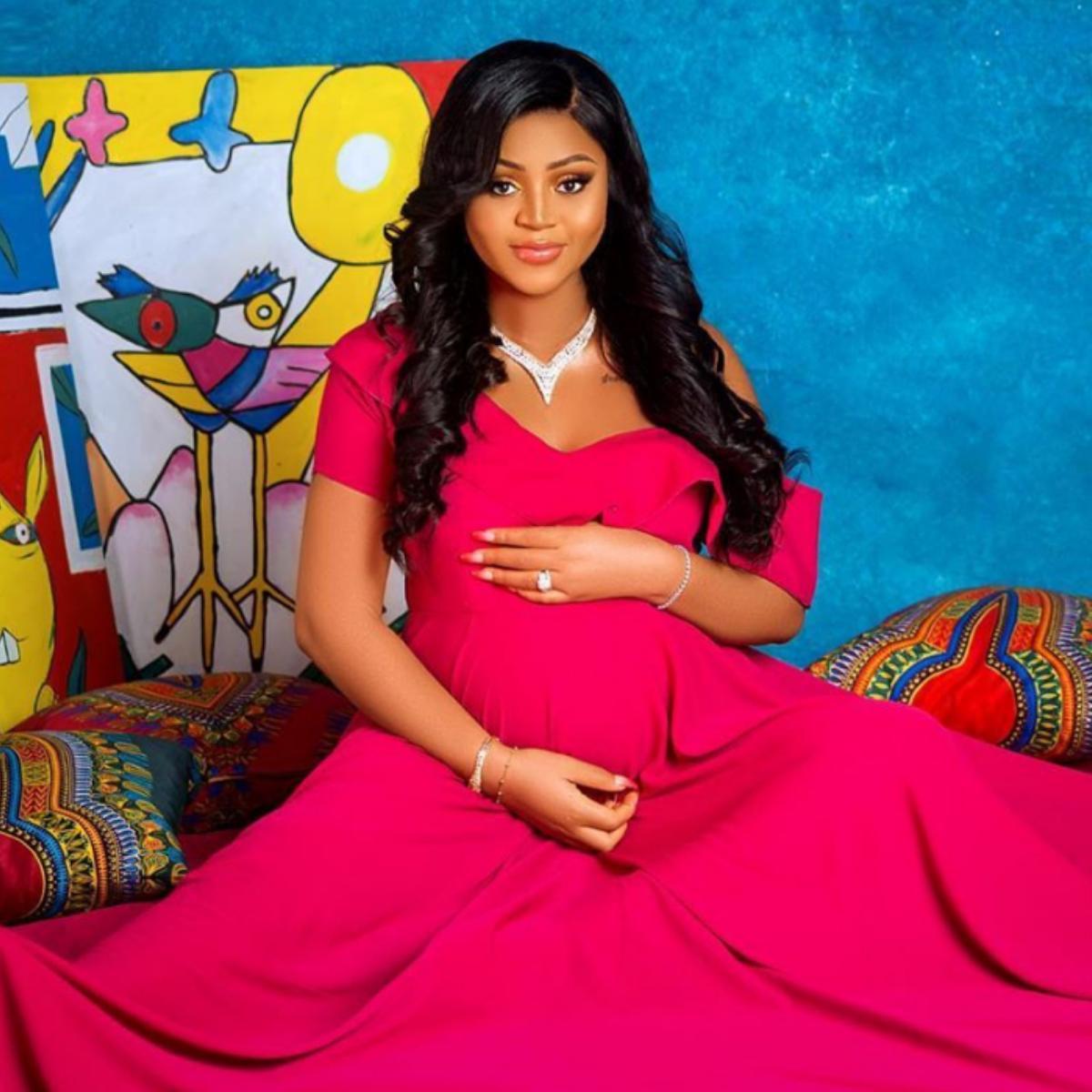 Regina Daniels Gives Birth Baby Boy