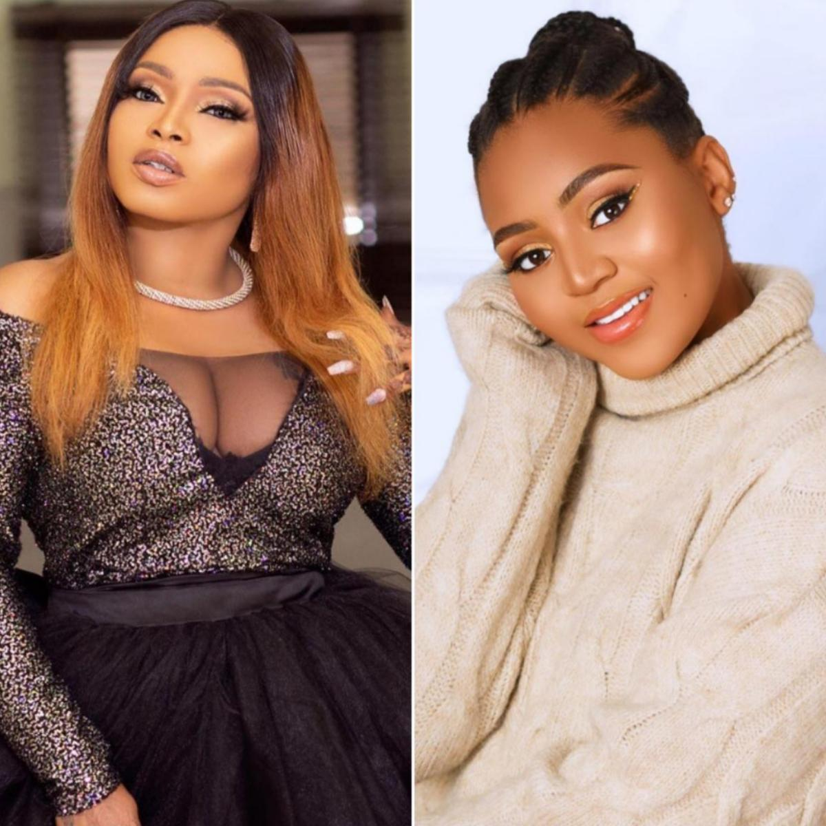 Regina Daniels Experience Motherhood With Joy Halima Abubakar