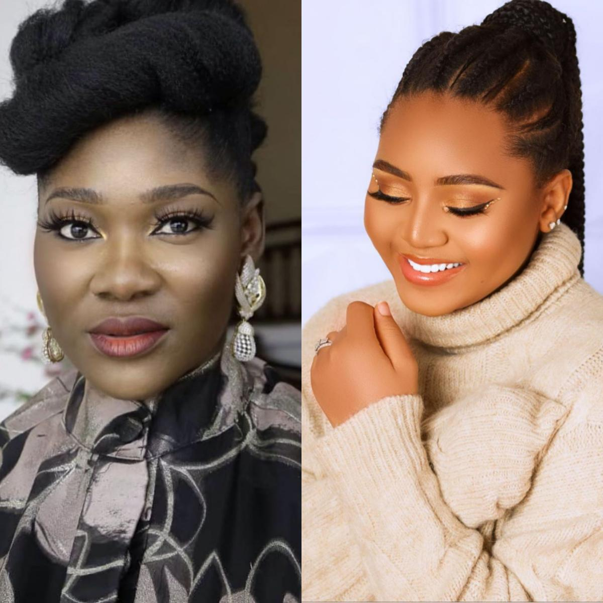 Mercy Johnson Snubs Regina Daniels After Child Birth