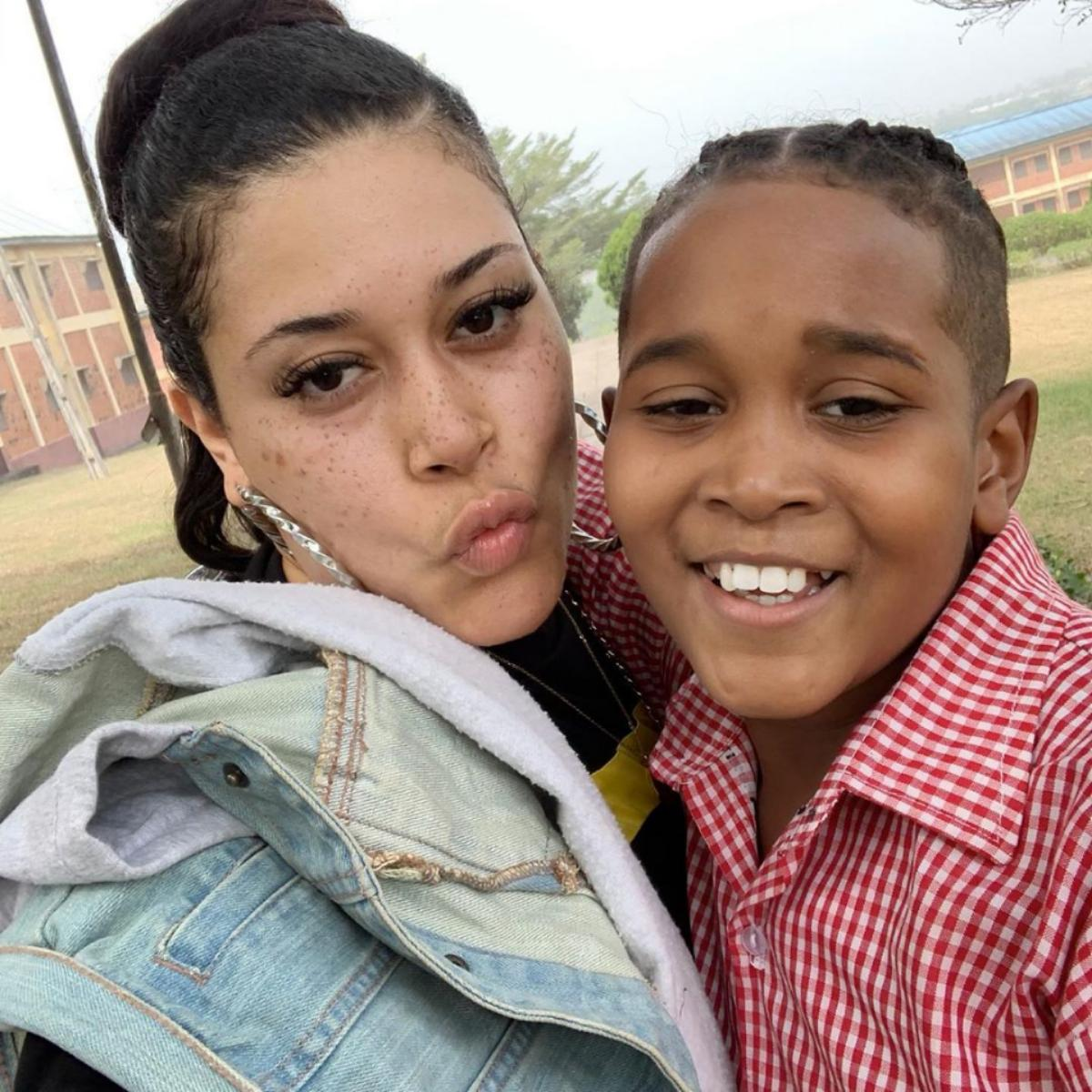 Adunni Ade And Son D'marion Young Tik Tok Challenge