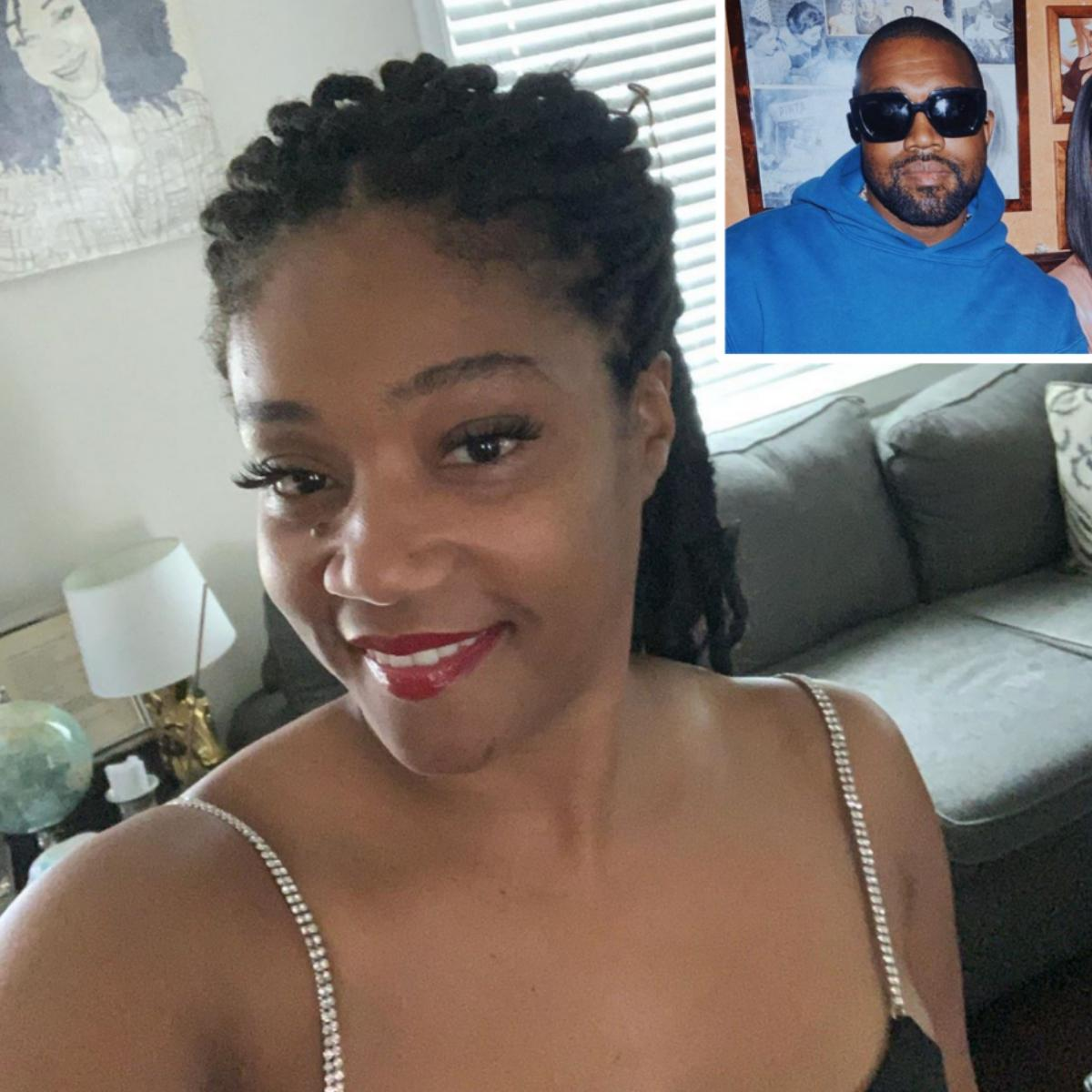 Tiffany Haddish Mocks Kanye West President 2020 Announcement