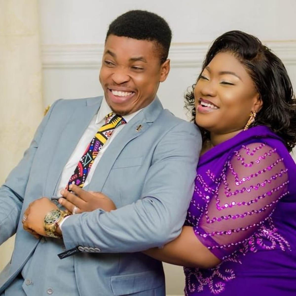 Woli Agba Celebrates Wife Olaife Ayobami Birthday