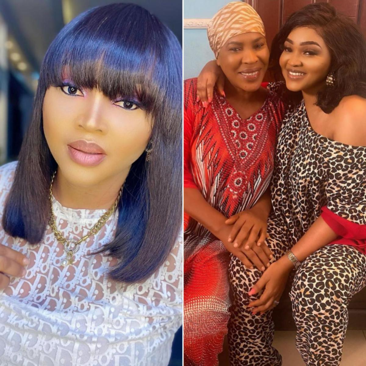 Faithia Williams Ageless Beauty Delight Working With Mercy Aigbe