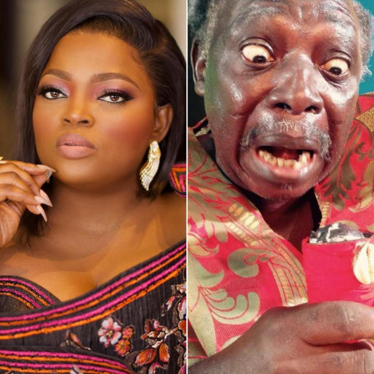 Funke Akindele Gifts Pa James New House