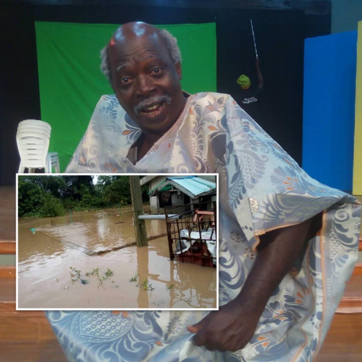 Funke Akindele Gifts Pa James Brand New House