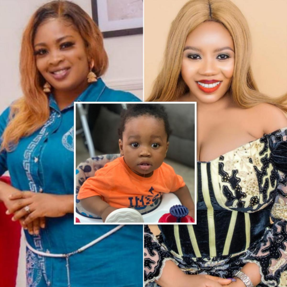 Bidemi Kosoko Gushes Over Wumi Toriola's Son