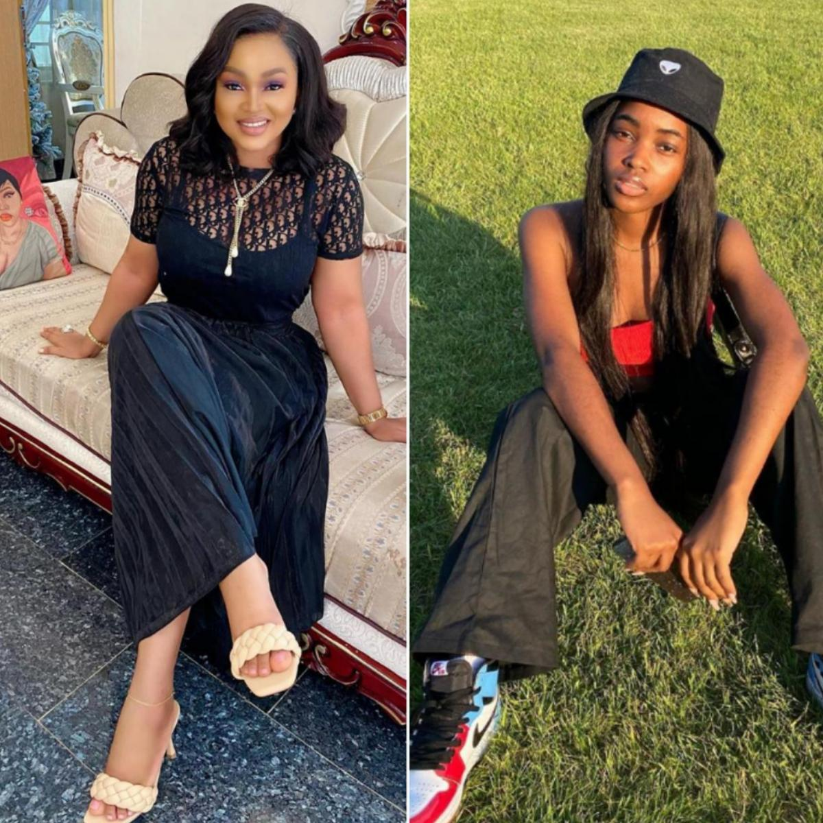 Mercy Aigbe Daughter Michelle Gentry Naming Ceremony Throwback