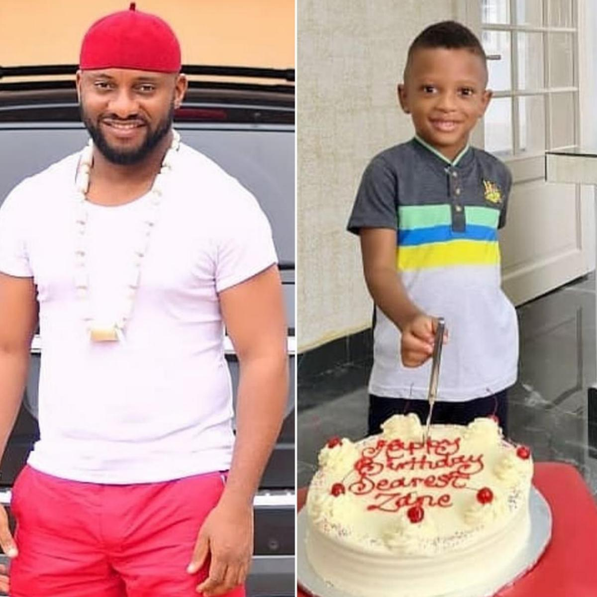 Yul Edochie Wishes His Fourth Child Zane Happy 3rd Birthday