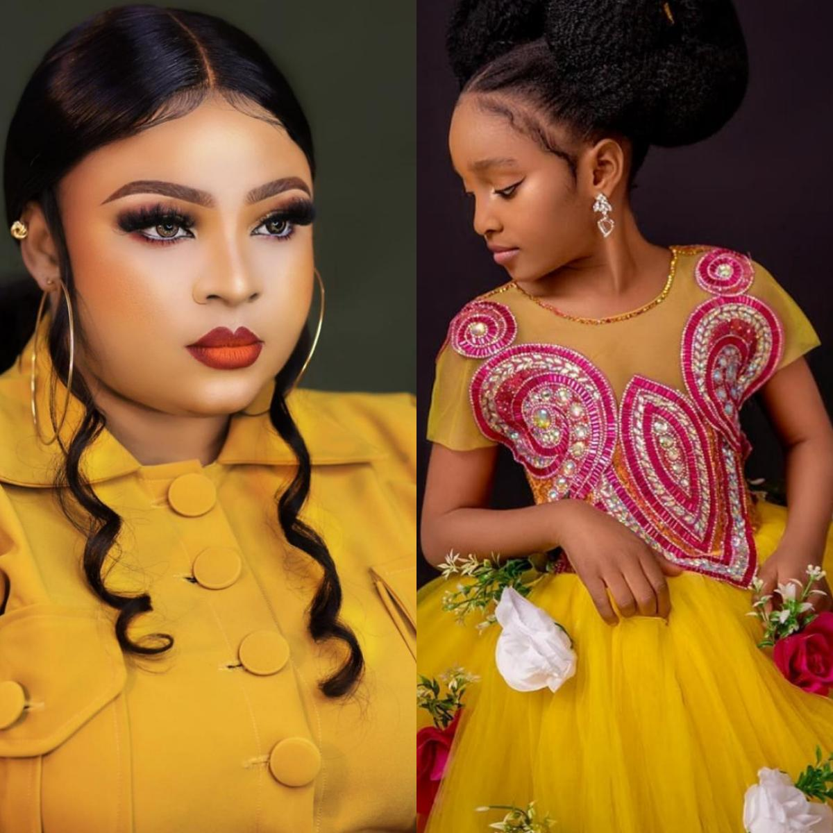 Bimbo Afolayan Daughter Aliyah 7th Birthday