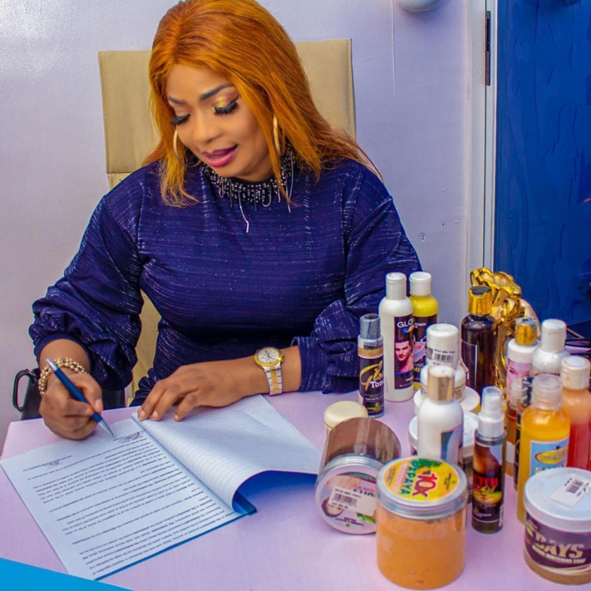 Laide Bakare Beautification Endorsement Deal