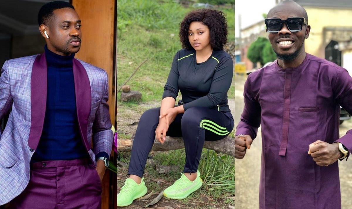 Lateef Adedimeji And Olatayo Amokade Date Mercy Aigbe
