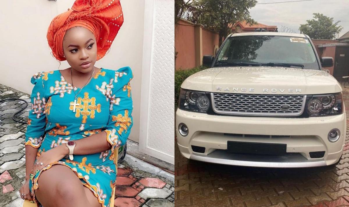 Yoruba Movie Actress Bewaji Range Rover