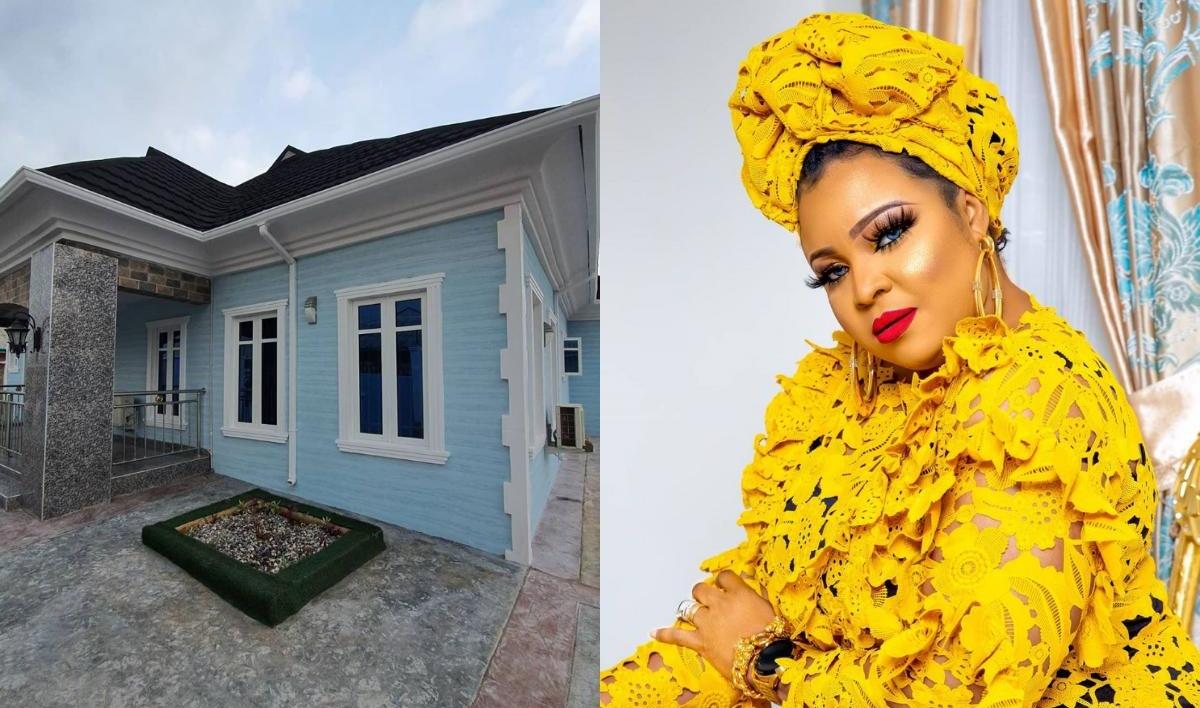 Bimbo Afolayan Buys Parents A Mansion As Sallah Gift