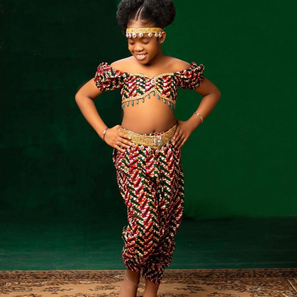 Basketmouth Daughter Janelle Okpocha 9th Birthday