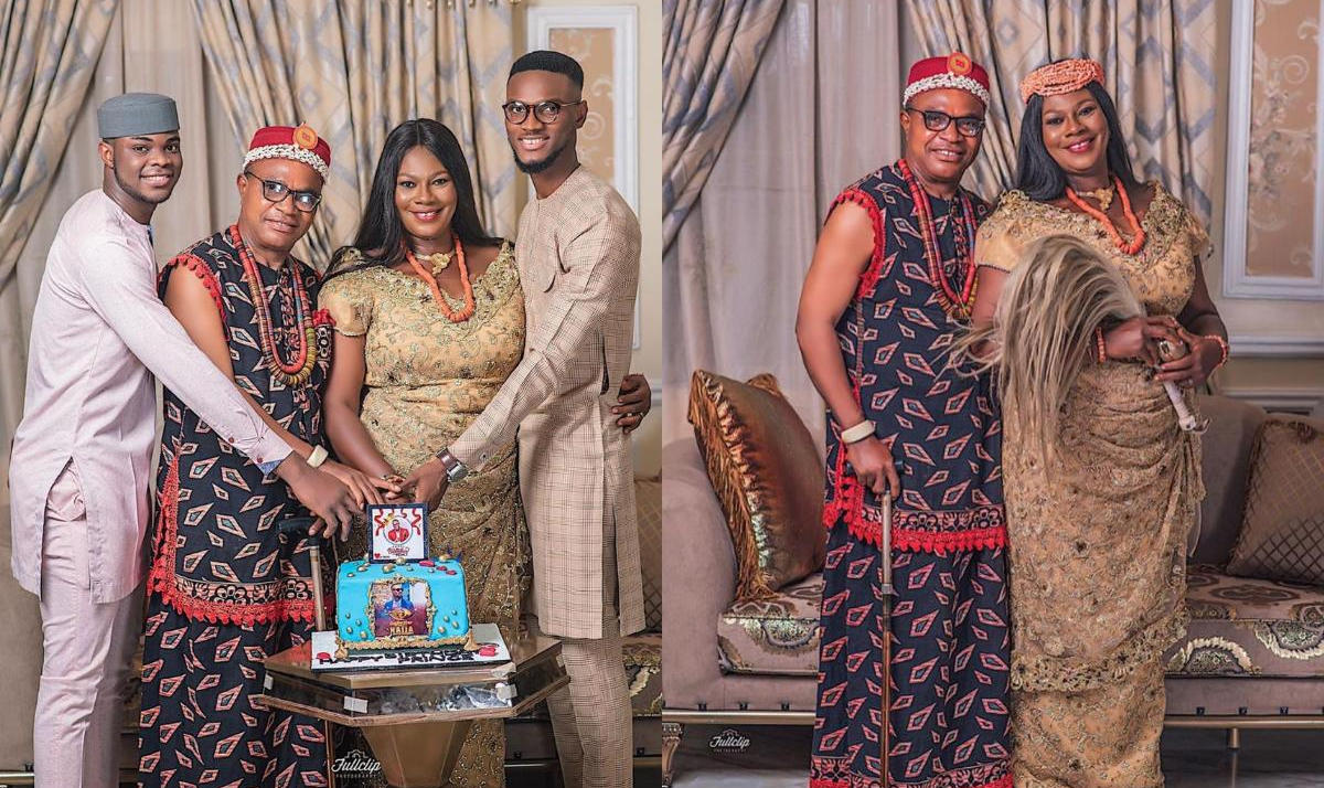 BBNaija Prince Birthday Family Photos - Amebo Book