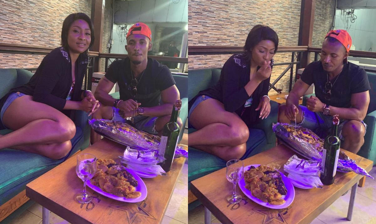 Belinda Effah And Gideon Okeke Hang Out - Amebo Book