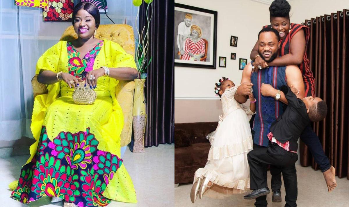Bukola Arugba Prays For Her Husband Damola Olatunji (2) Amebo Book