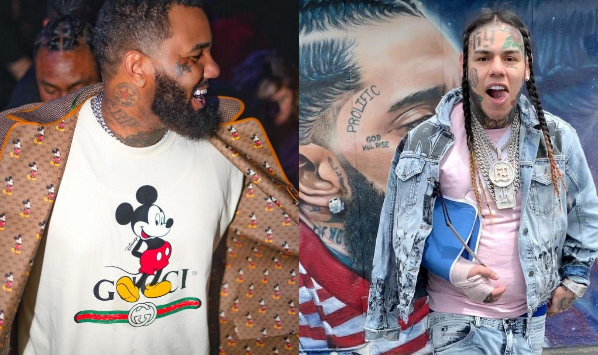 Game Criticizes 6ix9ine For Visiting Nipsey Hussle Mural - Amebo Book