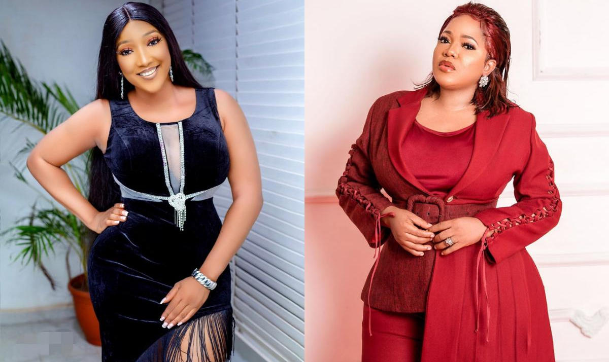 Christabel Egbenya Meets Toyin Abraham For First Time