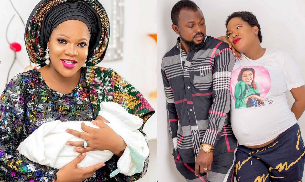 Toyin Abraham Son 1st Birthday