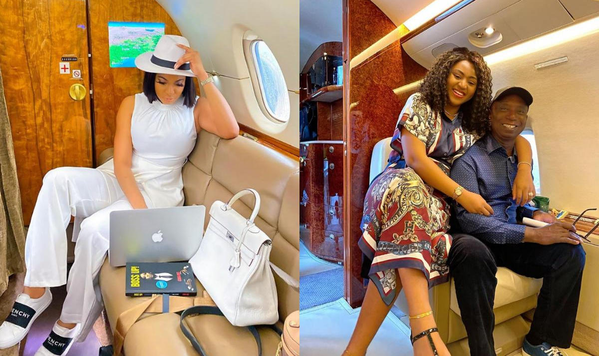 Chika Ike Private Jet Like Ned Nwoko's - Amebo Book