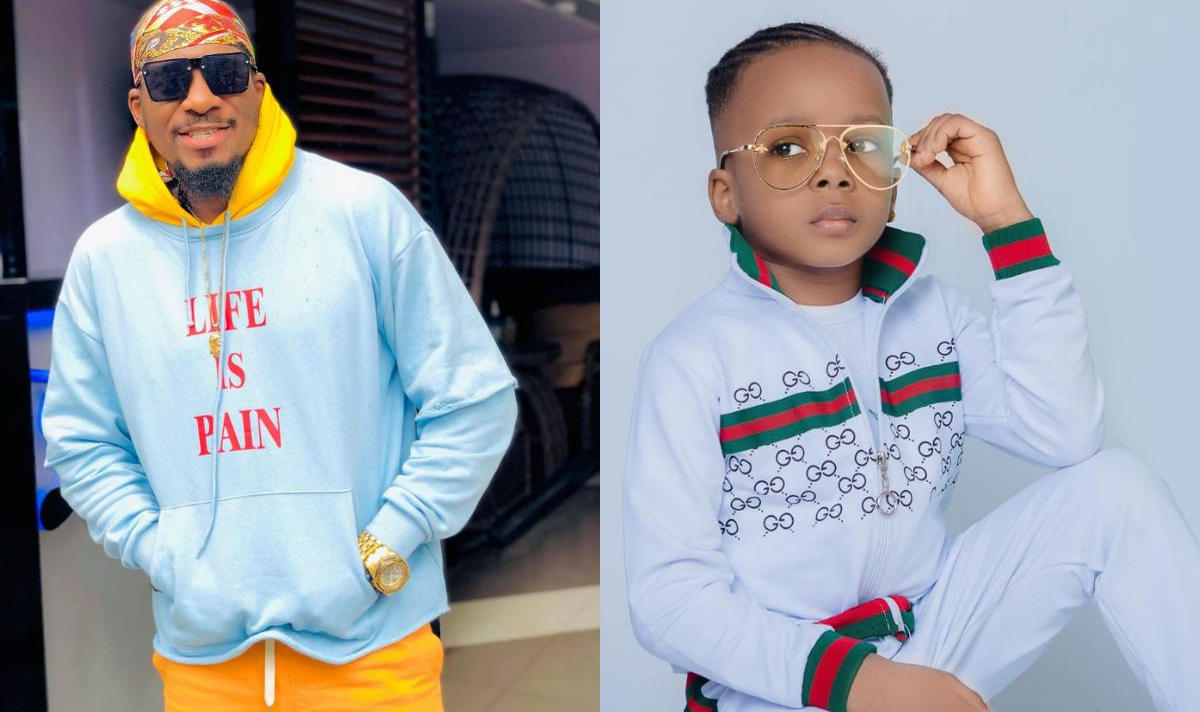 Junior Pope Son Jayden Jidenna Odonwodo 4th Birthday - Amebo Book