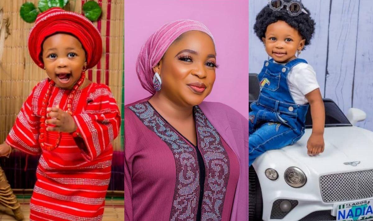 Kemi Afolabi Adesipe Daughter Nadia 1st Birthday - Amebo Book