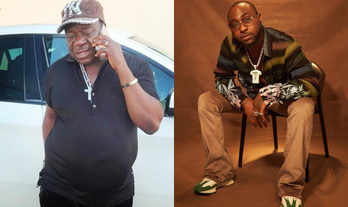 Mr Ibu Hangs Out With Davido - Amebo Book