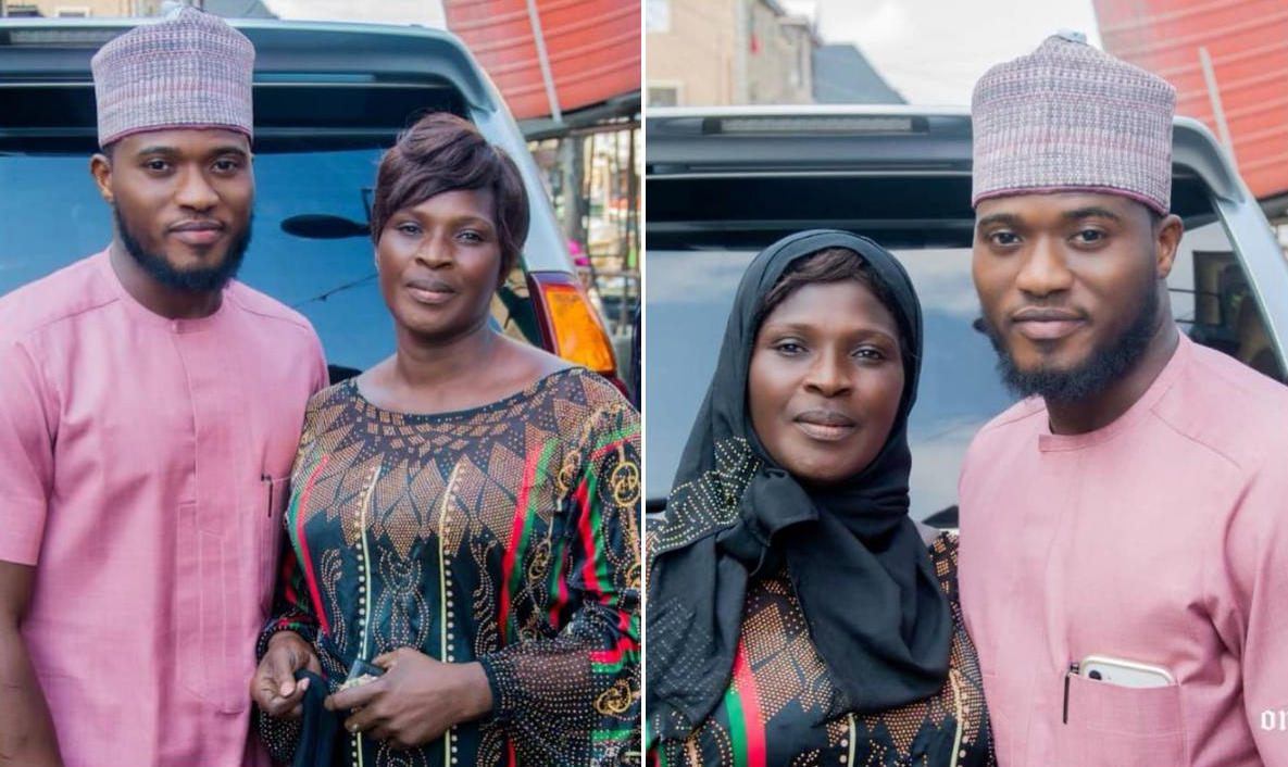 Mustapha Sholagbade Mother Birthday - Amebo Book